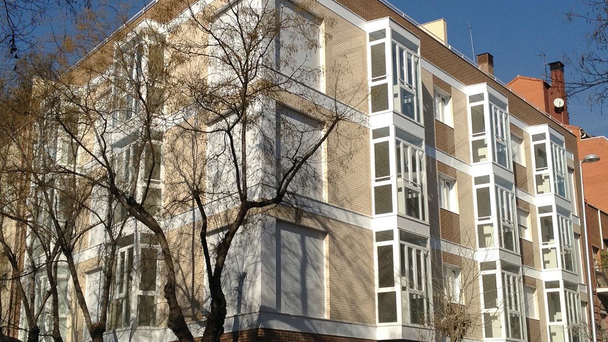Construcción 17 viviendas Madrid